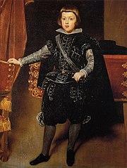 Portrait de l'infant Baltasar Carlos