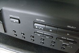 Video CD - PlayBack Control (PBC) added in VCD 2.0 requires a special 'Return' button