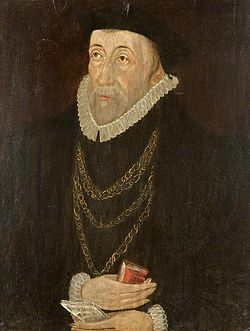 Richard pate in later life by unknown artist