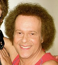 Richard Simmons. Cropped from a photo by Del F...
