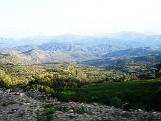 Rif - Rif mountains in the province of Ashawen