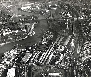 William Doxford & Sons - Image: River Wear 2nd March 1967