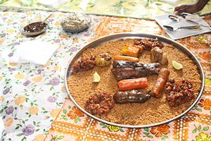 Riz gras - Image: Riz gras au legumes