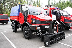 Silant - Silant 3.3TD Road cleaning vehicle