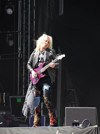 Rob Marcello - Robert Marcello performing at the 2014 Sweden Rock Festival