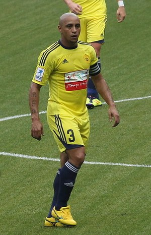 FC Anzhi Makhachkala - Roberto Carlos with Anzhi in 2011