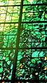 """Robinson College Chapel choir Piper stained glass window, """"Light of the World"""" (4767574162).jpg"""