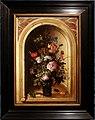 Roelant savery, vaso di fiori in una nicchia di pietra, 1615.jpg
