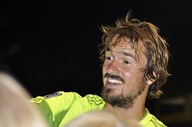 Roger Levesque with fans.jpg