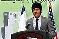 Rohullah Nikpai speaking in 2012.jpg