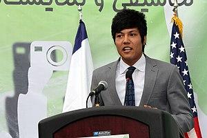 Sport in Afghanistan - Rohullah Nikpai, two-time Olympic bronze medalist 58kg and 68kg in Taekwondo.