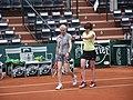 Roland Garros 2014 - Jana Novotna & Natasha Zvereva (15779324336).jpg