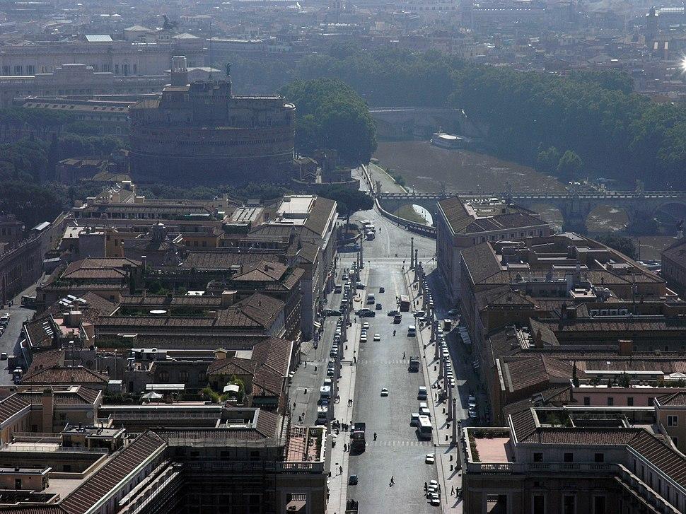 Roma-Via della conciliazione2