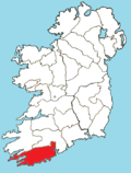 Roman Catholic Diocese of Cork and Ross map.png