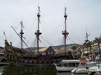 корабль фото галеон