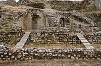 Roman stadium, built between 80-90 AD, probably a gift from the emperor Domitian, Patras, Greece (14328006871).jpg
