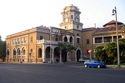 The administrative hall of the 10th Municipio, formerly the local seat of the Governatorato di Roma