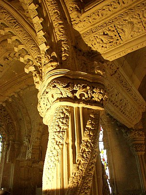 Rosslyn Chapel - The Apprentice Pillar
