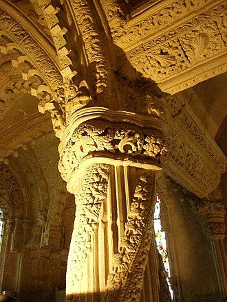 Rosslyn Chapel - The Apprentice Pillar