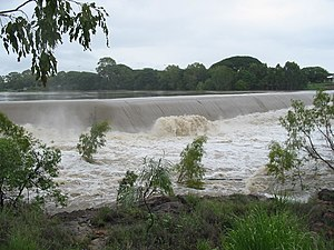 Ross River (Queensland) - Image: Ross River Black Weir