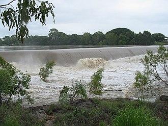 Ross River (Queensland) - Image: Ross River Black Weir