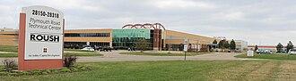 Roush Performance - Roush vehicle facility in Livonia, Michigan