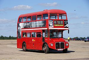 Routemaster RM1174 (JSJ 797), 2010 North Weald bus rally.jpg