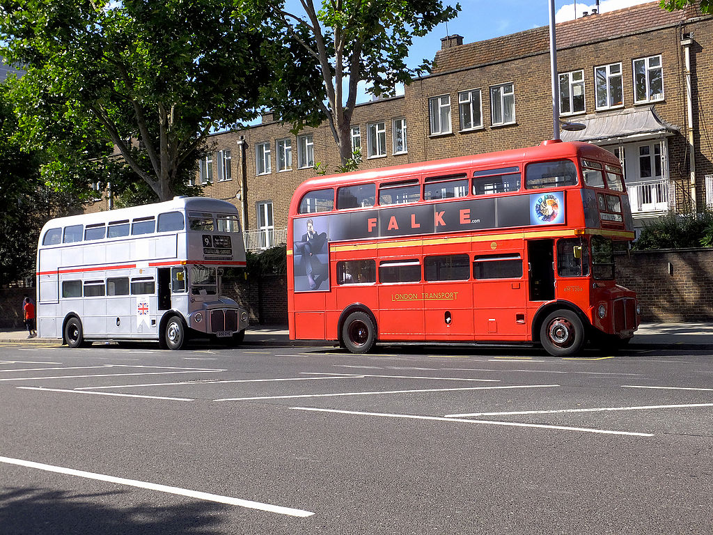 September 2013: File:Routemasters SRM3 (RM1650) (650 DYE) & RM1204 (204