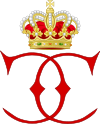Royal Monogram of Princess Caroline of Monaco.svg