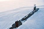 Royal Navy submarine breaks through Arctic ice for major exercise MOD 45163921.jpg