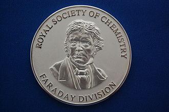 Archibald Liversidge - The 2014 Liversidge Award medal