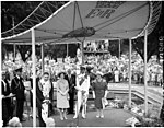 Royal visit of Queen Elizabeth II and the Duke of Edinburgh, February 1963, Archibald Fountain, Sydney - photographer Australian Photographic Agency (7300130874).jpg