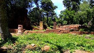 Nuestra Señora de Loreto - Image: Ruinas Loreto Iglesia 03