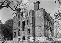 Ruins Rosewell Plantation Gloucester County Virginia