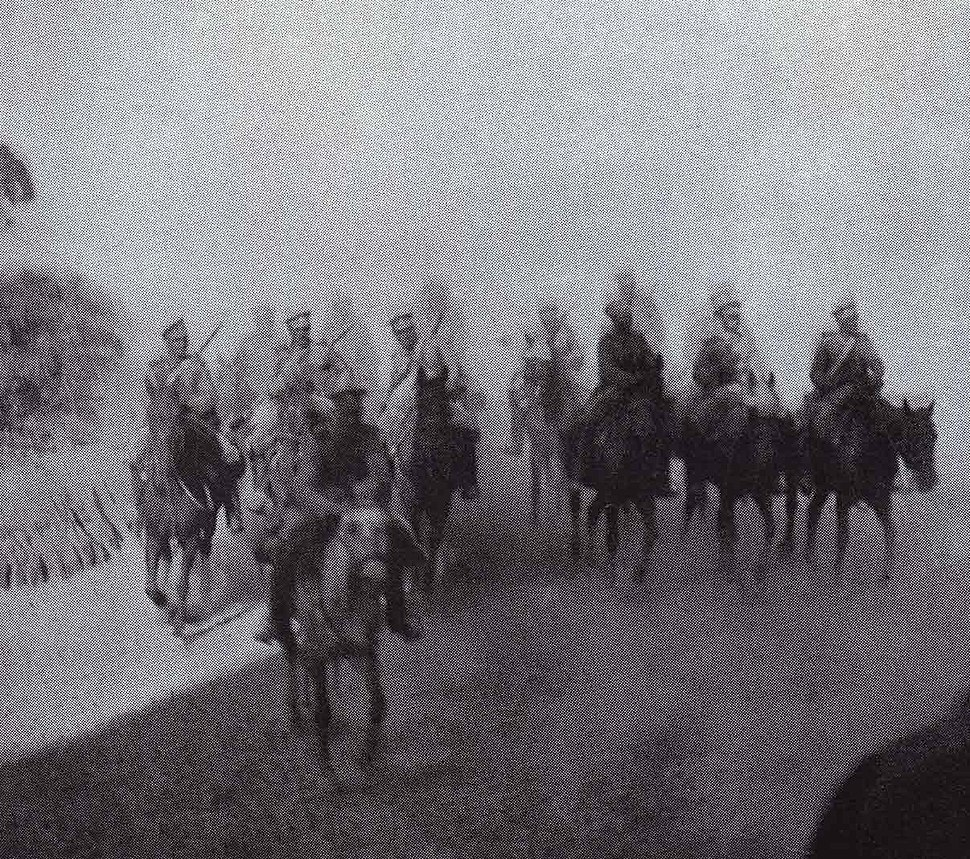 Russian Cavalry under Reconnaissance Mission during the Battle of Mukden