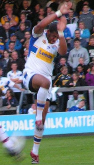 Ryan Bailey (rugby league) - Bailey playing for Leeds