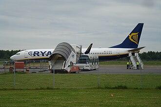 Kaunas Airport - Ramp view