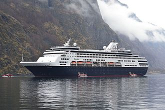Pacific Aria - Pacific Aria as the Ryndam in the Aurlandsfjord in 2013.