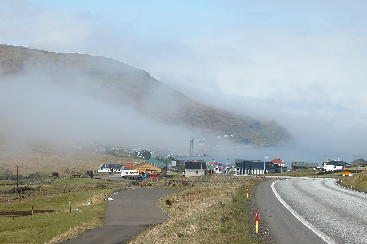 Faroe Island Road Map