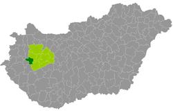 magyarország térkép sümeg Sümegi járás – Wikipédia magyarország térkép sümeg