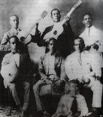 Son cubano - Sexteto Habanero 1920.