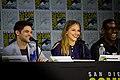 SDCC 2017 - Jeremy Jordan, Melissa Benoist and David Harewood 01.jpg