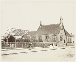 St Philip's Church, Sydney - Image: SLNSW 479559 56 St Philips School SH 692