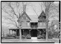 SOUTH (FRONT) ELEVATION - John L. Wisdom House, 535 East Main Street, Jackson, Madison County, TN HABS TENN,57-JACSO,2-2.tif