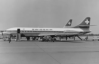 Swissair Flight 306 - Swissair's HB-ICX, sister aircraft to the aircraft HB-ICV lost in the accident.
