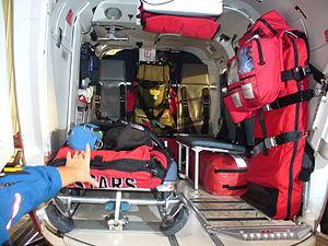 Shock Trauma Air Rescue Society - STARS Air Ambulance Interior