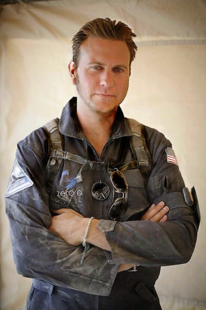 NASA-trained commercial astronaut Christopher Altman returns to camp from a dust storm while engaged in field operations and remote testing next-generation disaster relief and humanitarian aid technologies with STAR-TIDES and Synergy Strike Force at Black Rock City (2009).