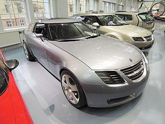 Saab 9-X - Image: Saab 9 X