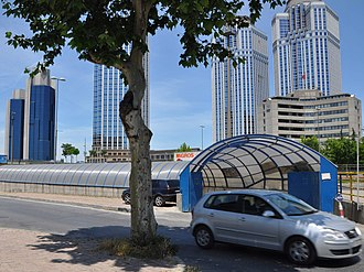 Isbank Tower 1 - Image: Sabanci Is Bank