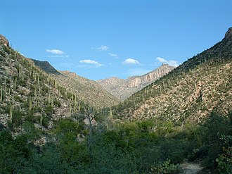 Sabino Canyon - Image: Sabino Canyon, 2002